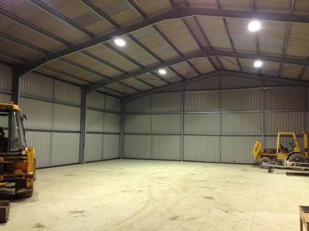 Internal storage unit lighting
